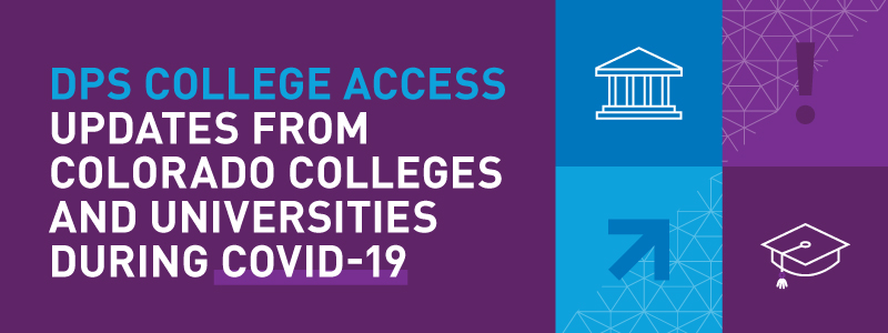 DPS College Access Updates Banner
